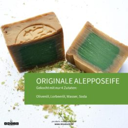 originale alepposeife von myamaze
